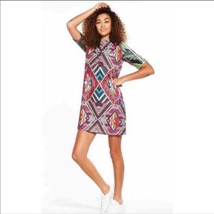 Adidas aztec print shirt dress- M new with tags 🏷